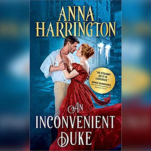 An Inconvenient Duke audiobook cover art