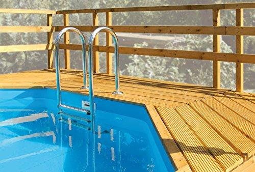 Weka Sonnendeck für Pool 593 B Gr. 1 594 und 594 A