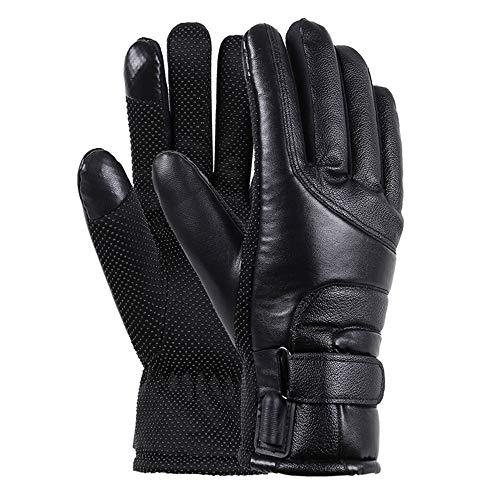 PQXOER-SP Guantes calefactables Hombres Mujeres eléctrico climatizada GlovesTouchscreen Guantes a Prueba de...