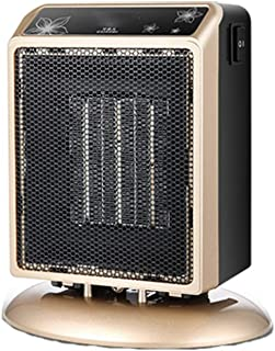 AZBYC Mini Calefactor Cerámico 400 / 900W, 2 Configuraciones De Calor, Mini Calefactor De Ventilador con Termostato Ajustable