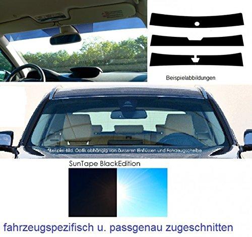 RECL2BST1T Frontblendstreifen, Sonnenschutzstreifen Windschutzscheibe – passgenau – fahrzeugspezifisch – inkl. Spiegelfußaussparung