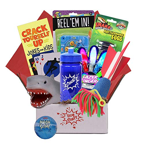 Beyond Bookmarks Boy Stuff Boredom Buster, Summer Camp Care Package, Cabin Fever, Birthday or Get Well Gift