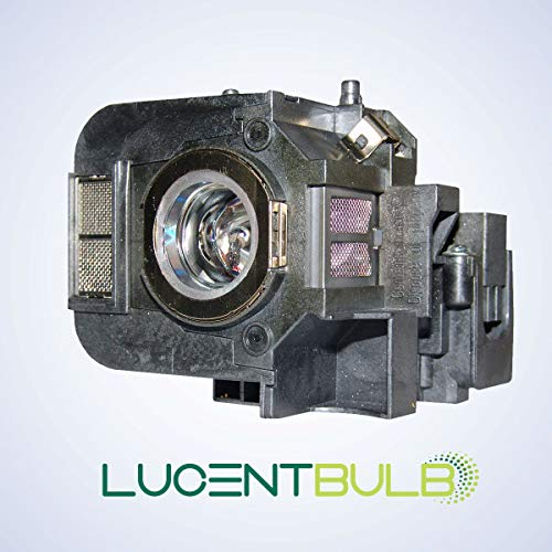 for Epson ELPLP50 / V13H010L50 Lamp Catridge by LucentBulb fits EB-824 EB-825 EB-826W EB-84 EB-84e EB-84he EB-85 EMP-825 EMP-84 EMP-84he H294B H295A H296A H297A H353A H353B H353C H354C H355B H355C