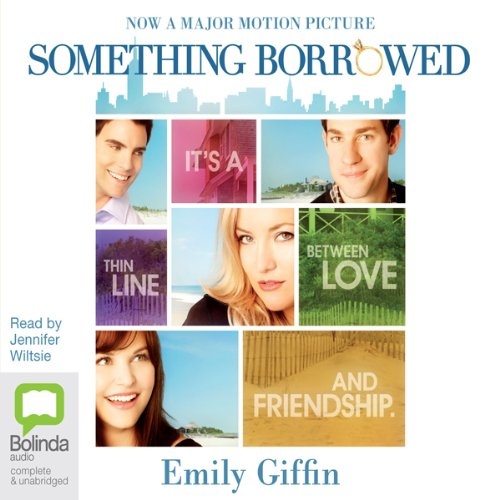 Something Borrowed audiobook cover art
