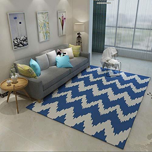 Teppich Polyester Teppich Einfacher Bereich Teppich Bodenmatte mit rutschfestem Schutzträger for Entryway Schlafzimmer Wohnzimmer Sofa Bettvorleger Wohnkultur Bereich Teppich Wohn-Esszimmer Teppich