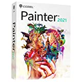 Corel Painter 2021 | Digital Painting Software | Illustration, Concept, Photo, and Fine Art [PC/Mac Keycard]