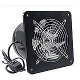 LXZDZ Ventilación de ruido del ventilador de cristal de ventana de ventilación de tipo Extractor silenciosa y potente de baño Cocina velocidad nominal
