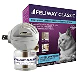 Feliway can help with your cat's spraying behavior.