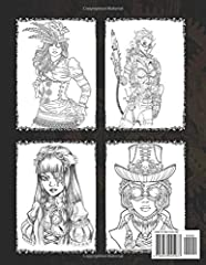Steampunk Coloring Book: Stress Relieving Adult Coloring Book #1