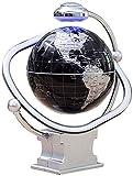 JNMDLAKO Globo Flotante de levitación de 8 Pulgadas magnético Giratorio misteriosamente suspendido en el Aire Mapa del Mundo decoración del hogar artesanía Moda