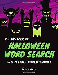 The Big Book of Halloween Word Search: 50 Word Search Activities for Everyone (Holiday Word Search)