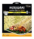 Norigami Egg Wraps Soy Protein-High Protein, Low Carb, Vegetarian Thin Healthy Wrap for...