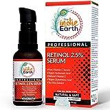 The Indie Earth Retinol Deep Wrinkle Repair Serum With Vitamin C Serum, Vegan