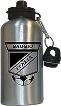 Roberto Baggio (Italy) Soccer Water Bottle Silver