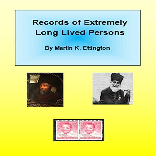 Records of Long Lived Persons audiobook cover art