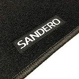 Alfombrillas Dacia Sandero (2008-2012) a Medida Logo | Rey Alfombrillas®