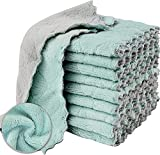 16 Pack Kitchen Cloths Dish Towels, Microfiber Cleaning Cloth, Coral Velvet Dish Cloths, Super Absorbent Dish Rags, Nonstick Oil Kitchen Washcloths for Housework, 10' x 6'