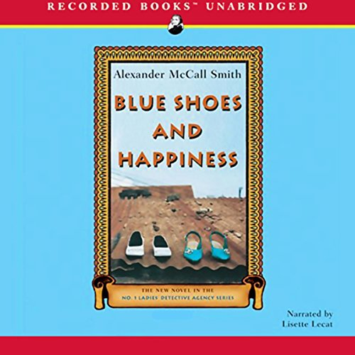 Blue Shoes and Happiness audiobook cover art