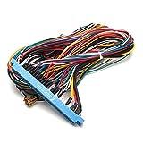C-FUNN 28 Pines Jamma Arnés Alambre De Cableado Telar para La Consola De Videojuegos De PCB Tablero De Videojuegos