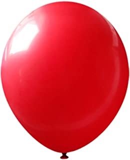 Neo LOONS 10 inch Standard Red Premium Latex Balloons for Birthdays Weddings Receptions Baby Showers Decorations, Pack of 100