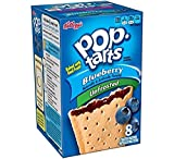 Kellogg's Pop Tarts Blueberry - 14.7 oz ( Package of 2) Unfrosted