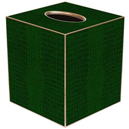 Marye-Kelley TB2620 - Green Crock Tissue Box Cover