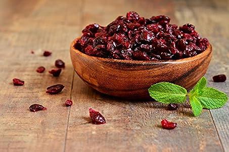 Arándanos Rojos Deshidratados | 1 Kg de Arándanos Secos | Enteros | Un Sabor Agridulce | IDEAL para Recetas | Fruto saludable y alto en Fibra | Dorimed