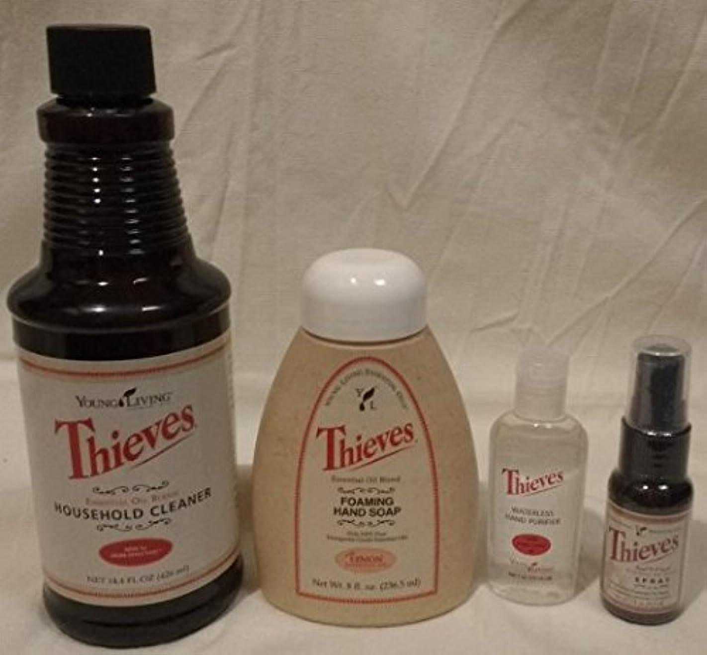 Thieves Healthy Home Kit Plus Thieves Essential Oil d88895176469
