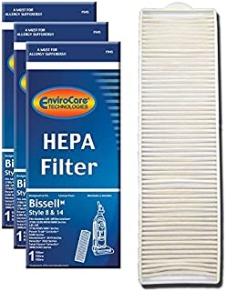 EnviroCare Replacement Post Motor HEPA Filter for Bissell Style 8 & 14 Uprights 3 Filters