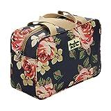 blu scuro rosa borsa da toilette per la borsa di cosmetici di alta qualità del sacchetto delle donne da toeletta cosmetici borse multifunzionali per le donne grande borsa articoli da toilette borse