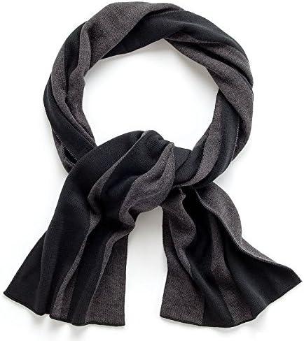 Apt.9 Men's, Women's Scarves Fashion Fringe Shawl Scarf Striped Grey, Black 10