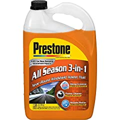 This item has been restricted from sale in the following States: CALIFORNIA, TEXAS Specially engineered to keep your windshield clear, no matter the weather De-icer melts ice fast and protects against freezing down to -27F plus beading technology lea...