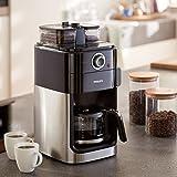 Philips Grind und Brew HD7769/00 Filterkaffeemaschine mit Mahlwerk - 8
