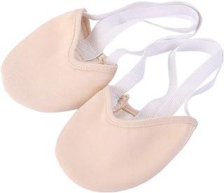 comprar comparacion VORCOOL Zapatillas de Ballet, Zapatillas de Medio Dedo Hechas de algodón contemporáneo de Punto para Bailarinas de Ballet ...