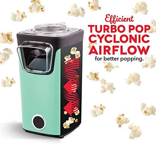 Product Image 3: DASH DAPP155GBAQ06 Turbo POP Popcorn Maker, 8 Cups, Aqua