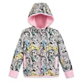 Disney Princess Zip-Up Hoodie for Kids - Size 5/6 Multi
