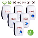 Best Pest Repellers - Ultrasonic Pest Repeller 6 Pack,Upgraded Electronic Pest Repellent Review