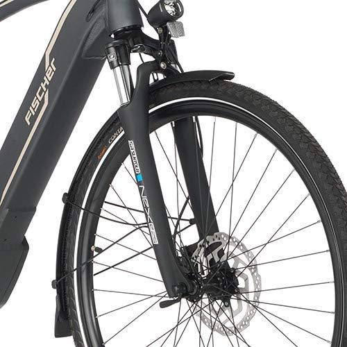 FISCHER Herren – E-Bike Trekking VIATOR 5.0i (2019), grau matt, 28″, RH 50 cm, Brose Mittelmotor 50 Nm, 36V Akku Bild 2*