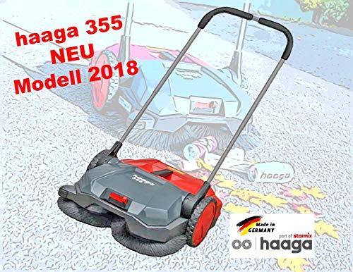 STARMIX Kehrmaschine Haaga haaga 355, mit 2 Seitenbesen 550mm, 1600 m²/h, 20 l