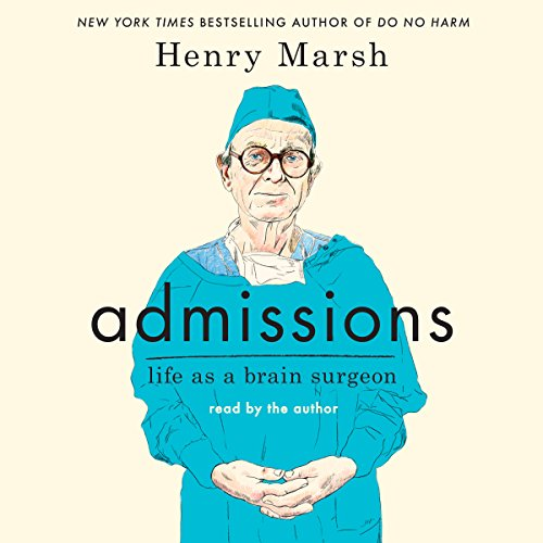 Admissions audiobook cover art
