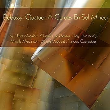 Debussy : quatuor à cordes in G Minor