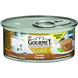 PURINA Gourmet Gold Turkey Patties spína? GR. 85 Wet Food For Cats