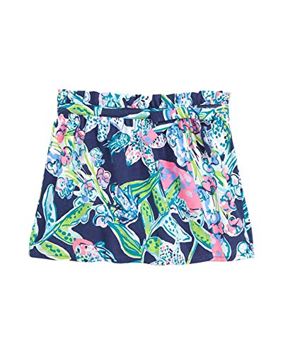 Lilly Pulitzer - Girls Karla Skort (Bright Navy Sway This Way, XL)