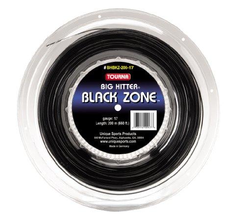 Tourna Black Zone Polyeser - Cuerda de Tenis
