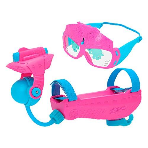 Eolo - Lanzador de agua y gafas Aqua Gear, color rosa y azul (ColorBaby 43653)