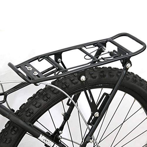 Estable Asiento posterior de la bicicleta de bicicletas de montaña de liberación rápida Bastidor trasero Bastidor de la bicicleta a cuestas bandeja trasera Adecuado for freno de disco de frenos V Carr