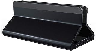 Soportes Laptop Vertical Oficina de Escritorio aleación de Aluminio Ajustable manualmente portátil Anchura (Color : Black,...
