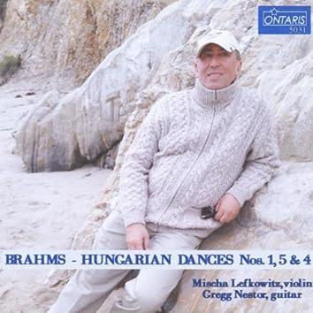 Brahms: Hungarian Dances for Violin and Guitar: Dance Nos. 1, 5 & 4