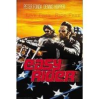 EASY RIDER イージーライダー - Live Free Ride Free/ポスター 【公式/オフィシャル】
