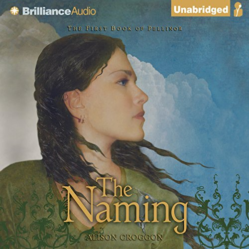 The Naming audiobook cover art